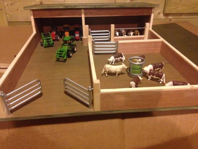 first farm ,wooden toy farm