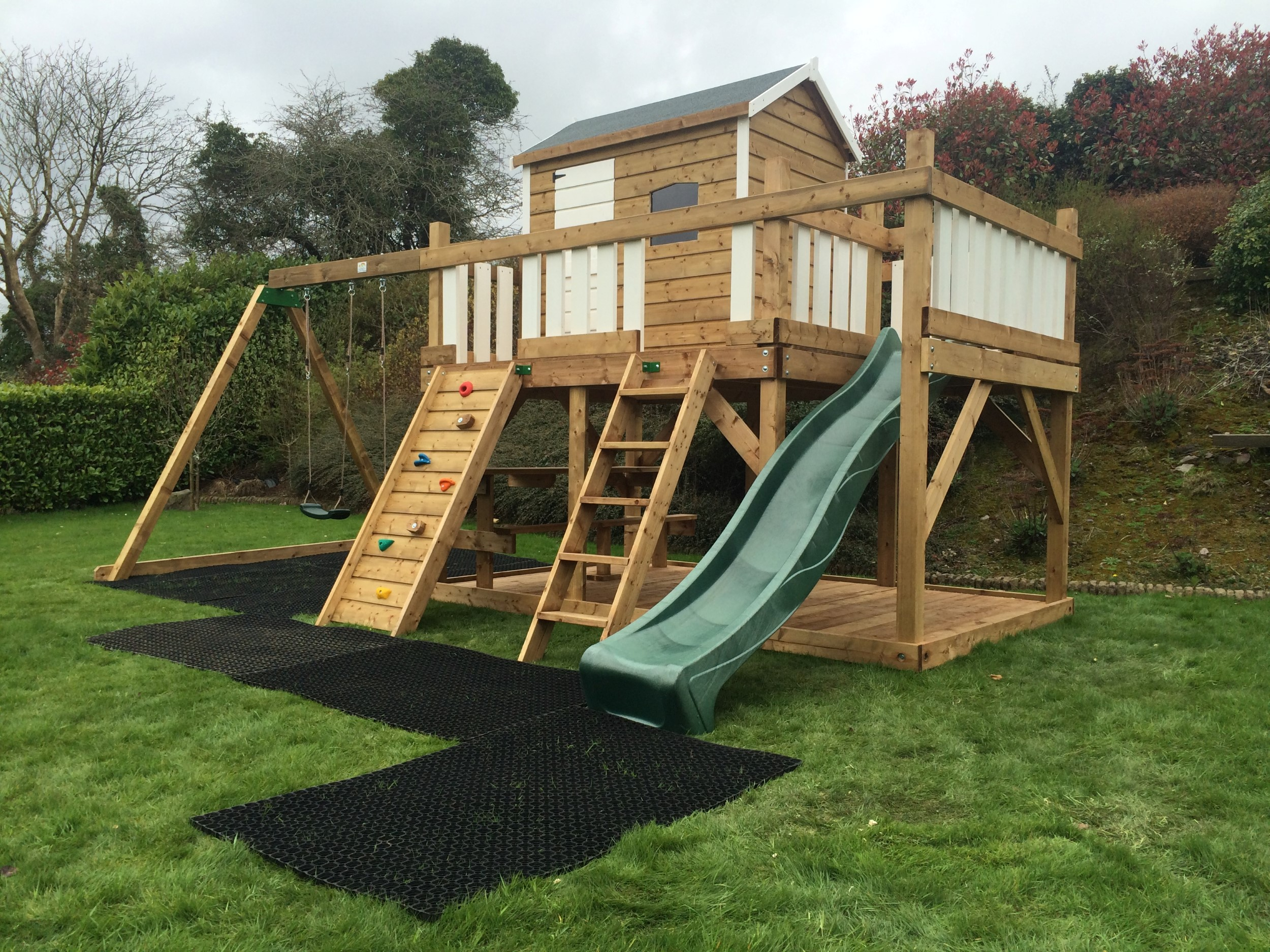 wooden playhouses timber playhouses play houses Ireland