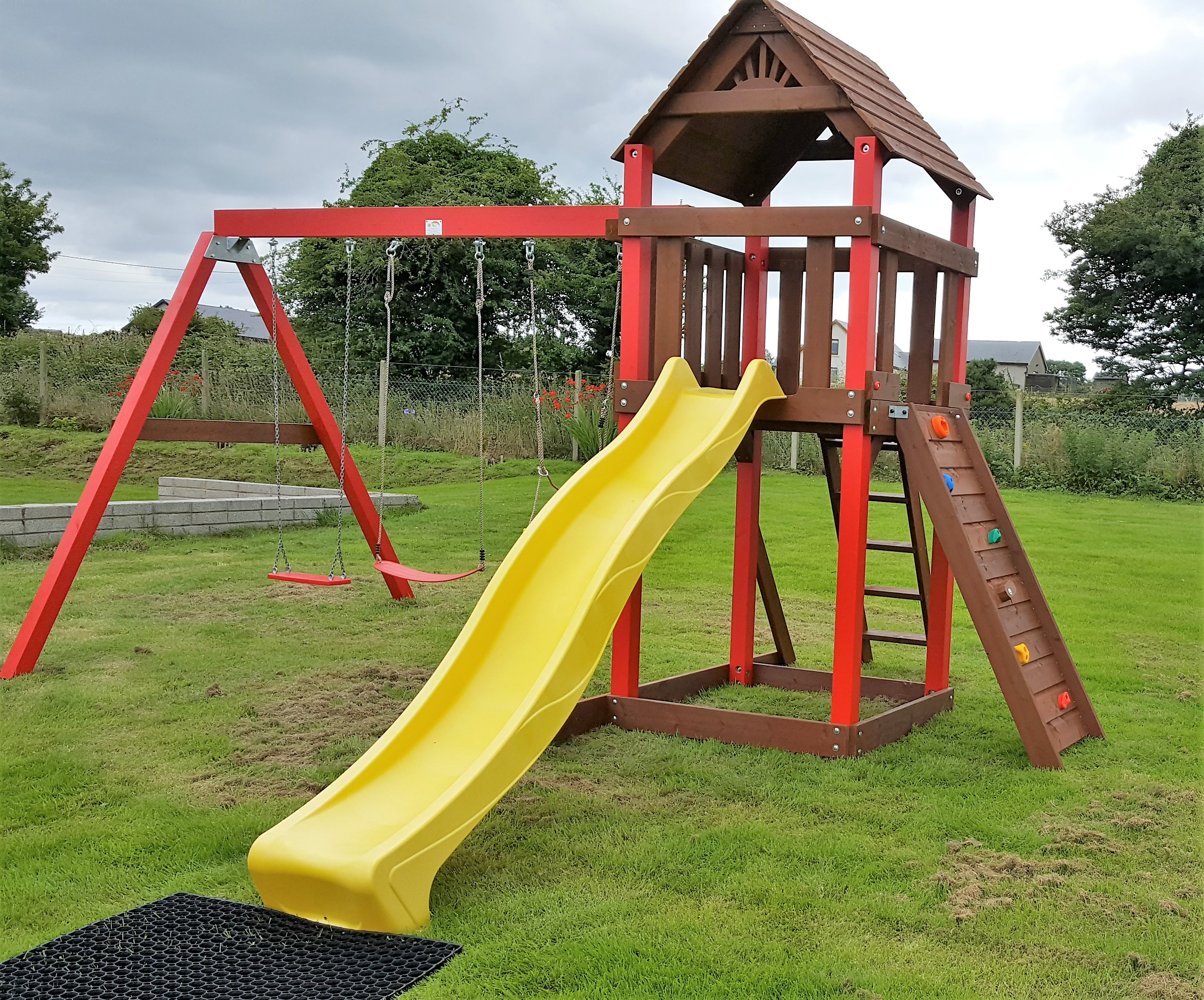 The Lydon Heavy Duty Swing And Slide Set Stt Swings