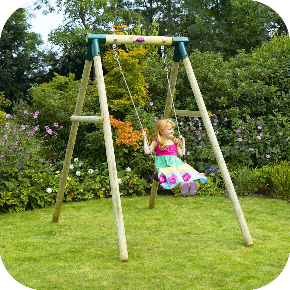 Baby wooden pole swing set free delivery outdoor playground equipment swings - How to build an outdoor wooden playground ...