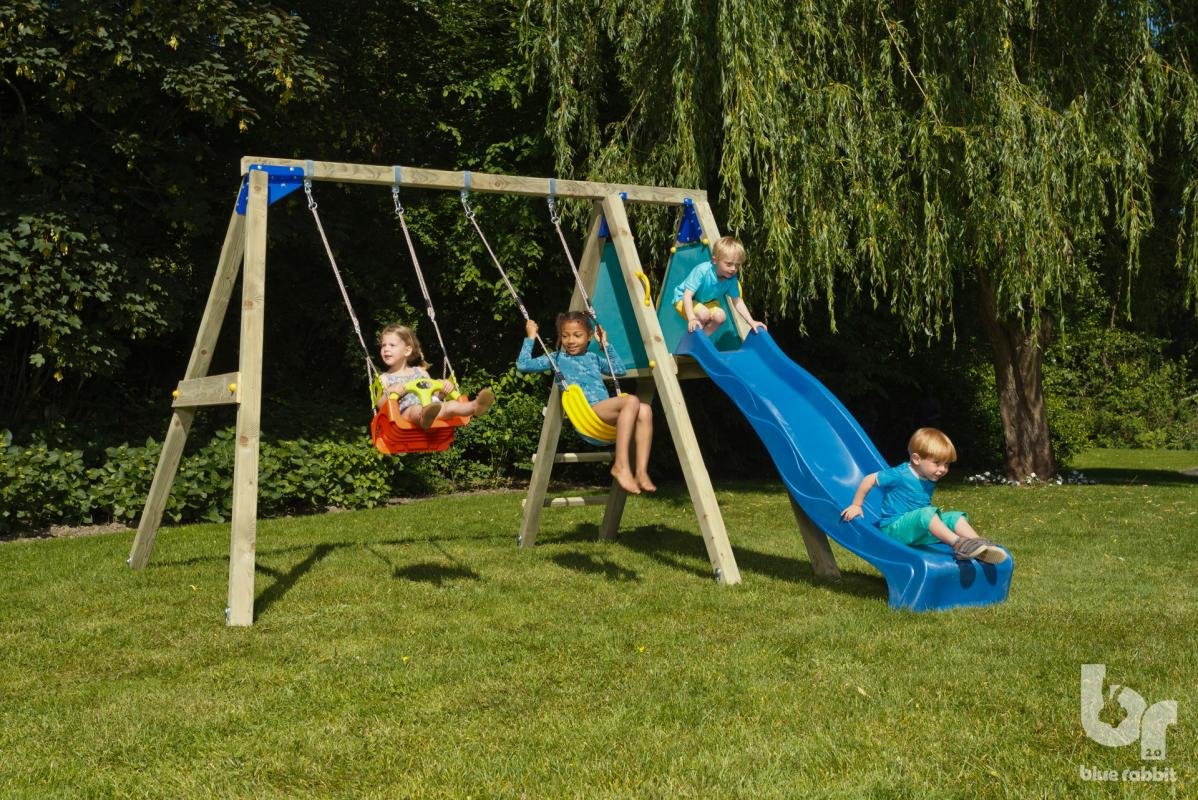 Playhouse Outdoor With Slide