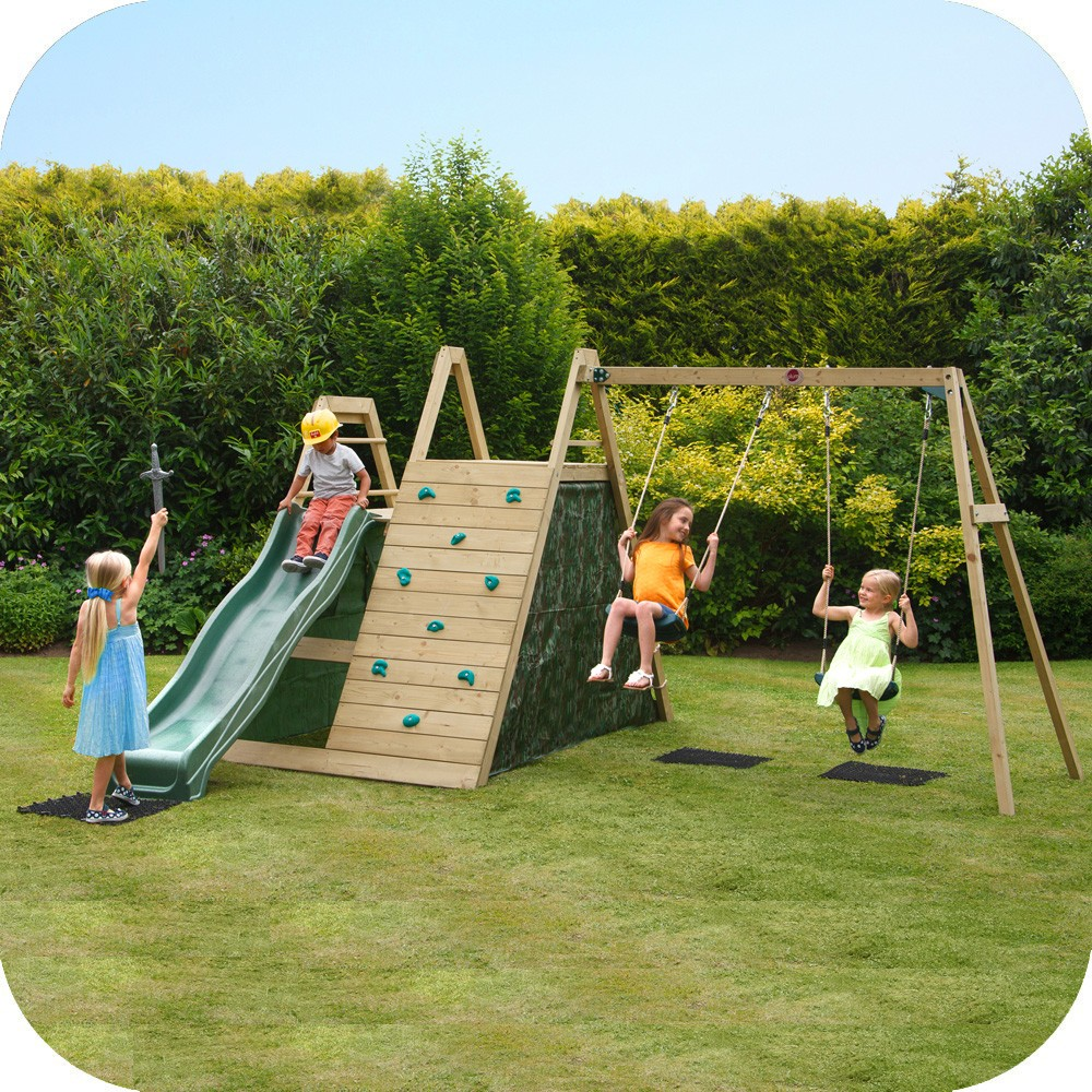 Climbing Pyramid with swings Free Delivery • outdoor