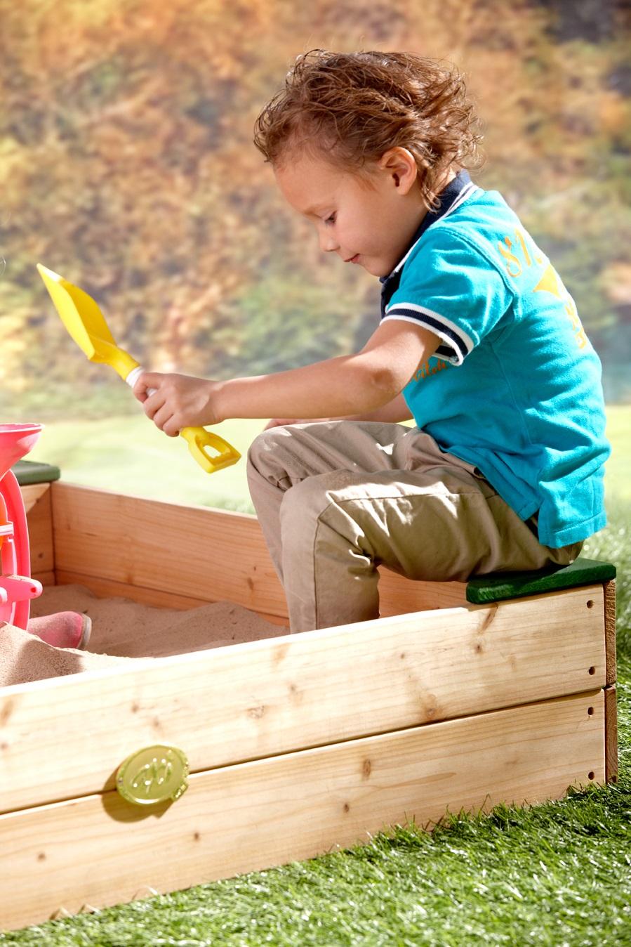 Sand Box Amy Outdoor Playground Equipment Swings Play