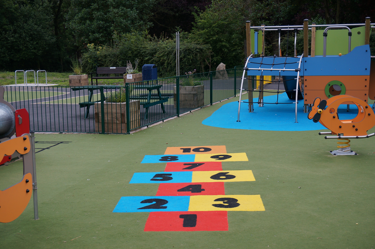 Playground safety surfaces outdoor playground equipment - Playground surfaces for home ...