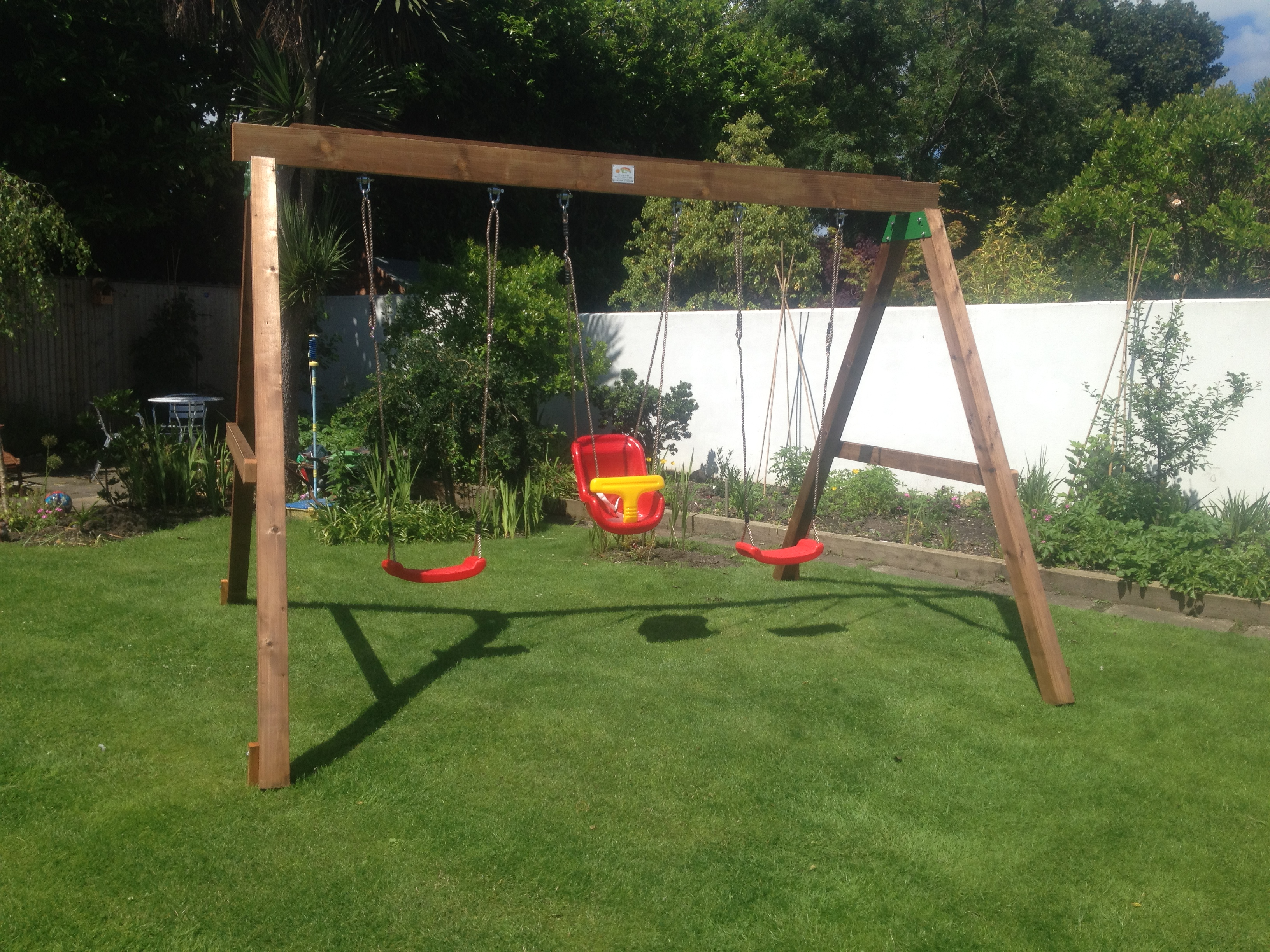 Classic heavy duty A frame swing set STTSwings