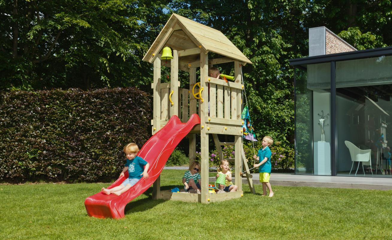 Stt swings kiosk play set - Casitas para el jardin ...