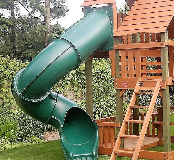 Spiral Tube Slides Archives Outdoor Playground Equipment