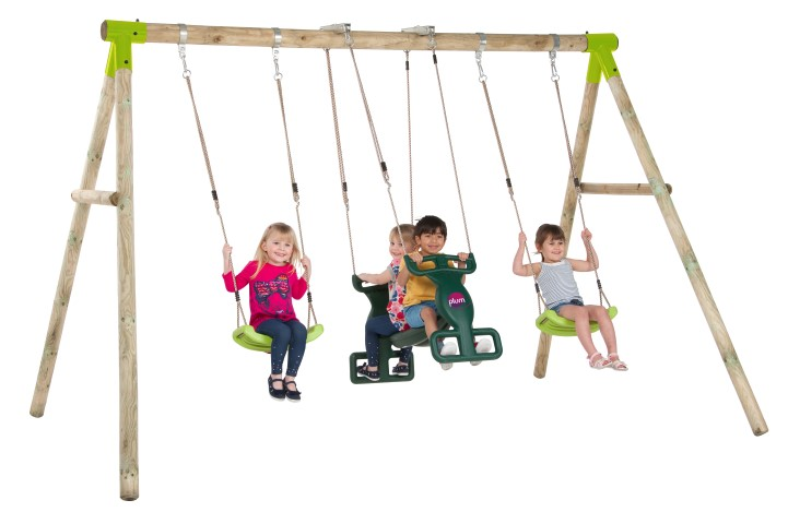 Vervet Wooden Garden Swing Set sttswings