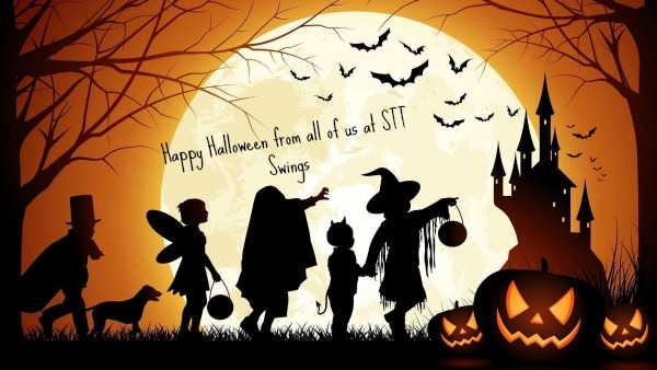 Happy Halloween from STT Swings handmade Irish tree houses