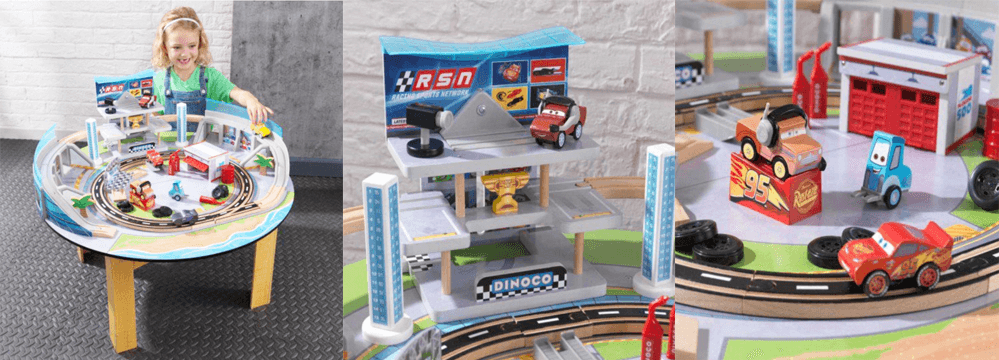Disney® Pixar Cars 3 Florida Racetrack Set & Table