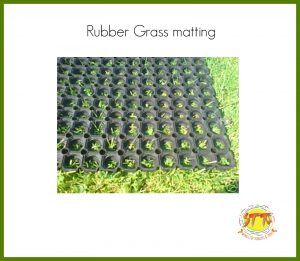 STT swings rubber grass matting FB