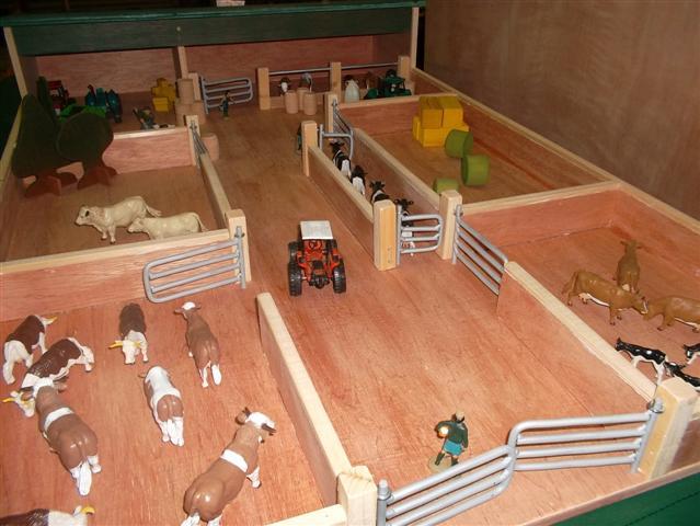 Cattle shed yard 4 paddocks & cattle crush