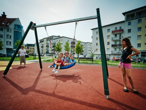 Birds Nest Swing Ref 10031 Outdoor Playground Equipment