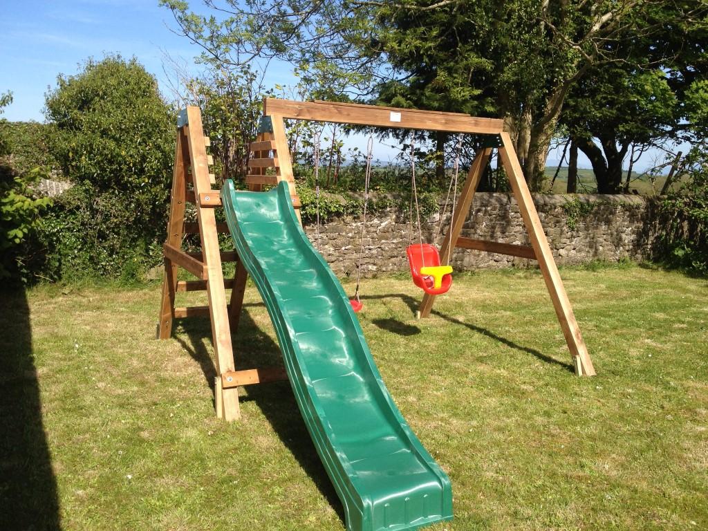 Heavy Duty Deacon Swing & Slide Set