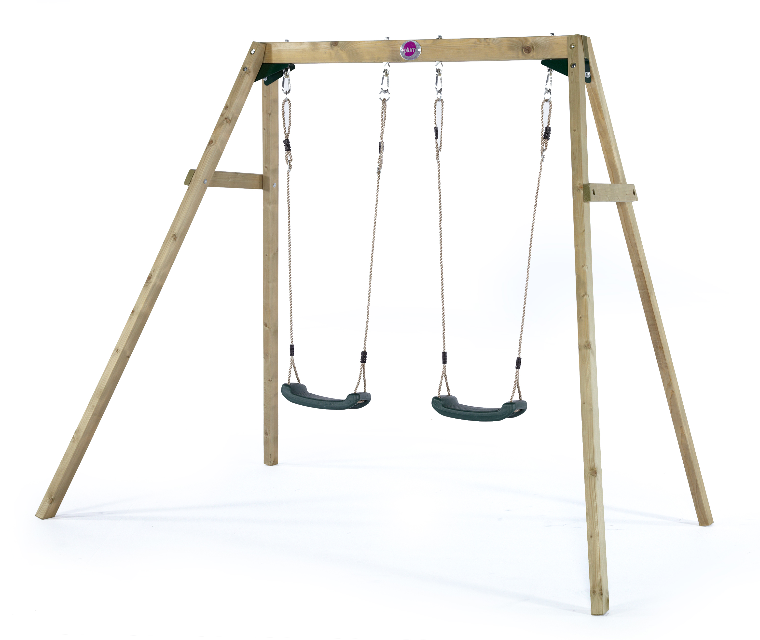 BFree wooden double swing set sttswings